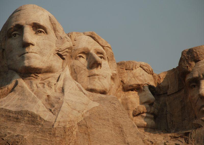 Mount Rushmore National Memorial close view