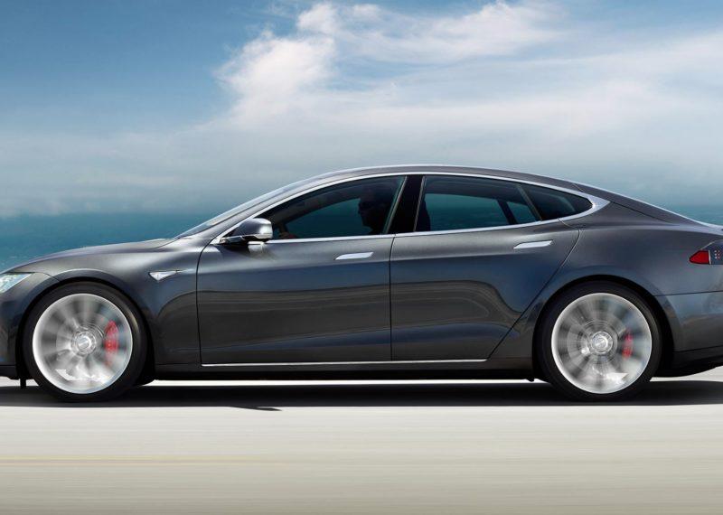 gray Tesla Car