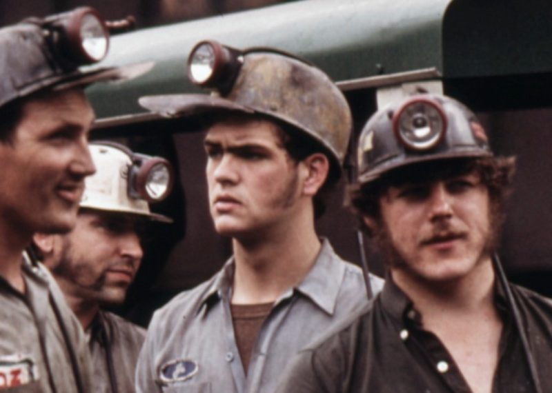 miners talking. Virginia