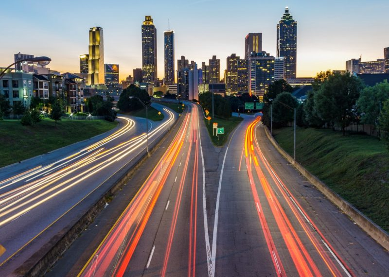 Atlanta freeway