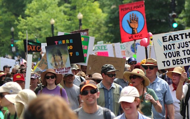 The People's Climate March in Washington, DC