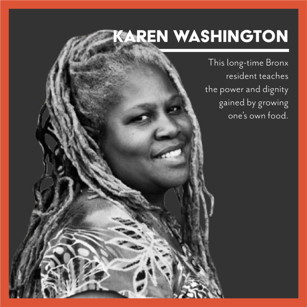 portrait: Karen Washington