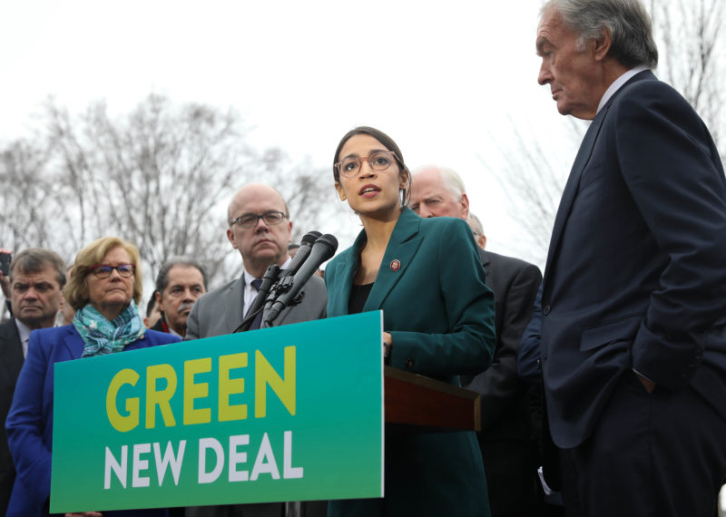 green new deal cost