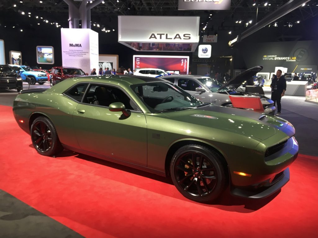 2019 green Dodge Challenger