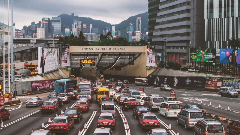 Air pollution from cars, trucks and buses contributes to climate change in addition to harming human health.