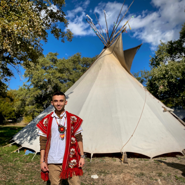 Jose Gomez fights against oil companies with the International Indigenous Youth Council