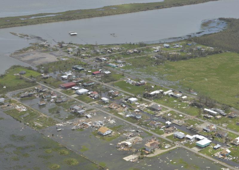 lake charles hurricanes climate change