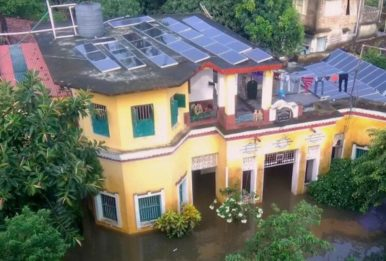 In Rural India, Solar Powers Through a Flood