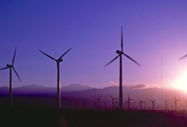 wind power elices dawn