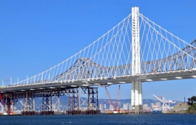 The new Oakland Bay Bridge