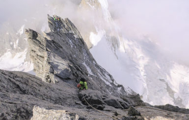 climate change climbing alps