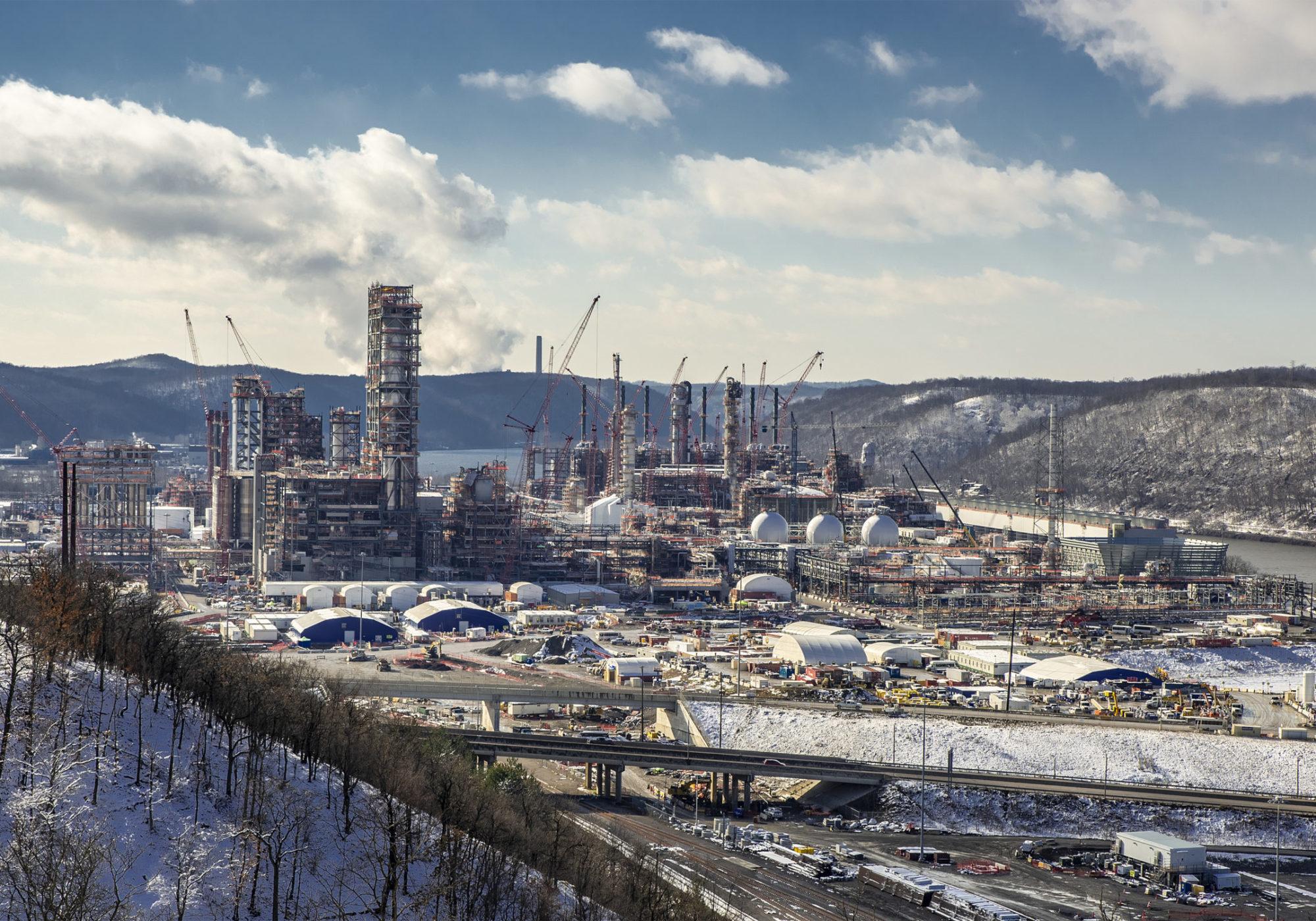 oil gas ethane plastic Pennsylvania