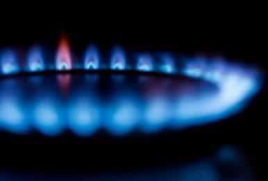 A gas-fired stove. Credit: Torsten Dettlaff via Pexels