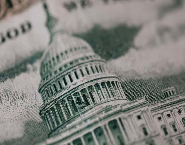 Picture of the Capitol building on dollar bills