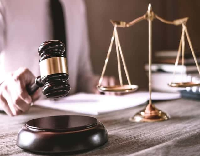 Courts Gavel scales