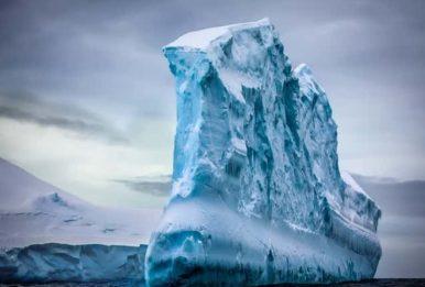 epic Antarctic iceberg