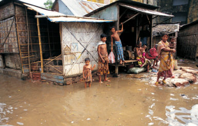 asia climate change displaced people