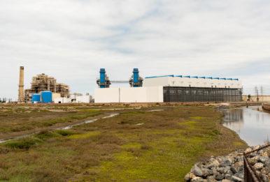 Poseidon Water desalination plant in Huntington Beach