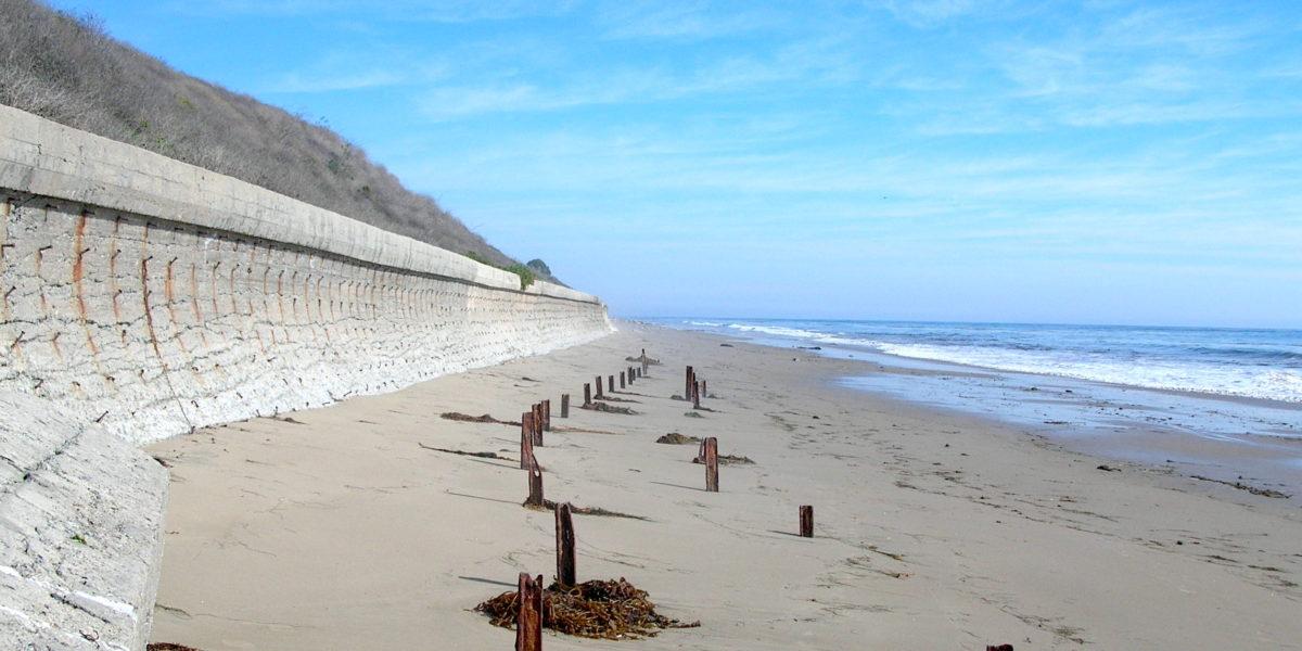 sea walls california erosion