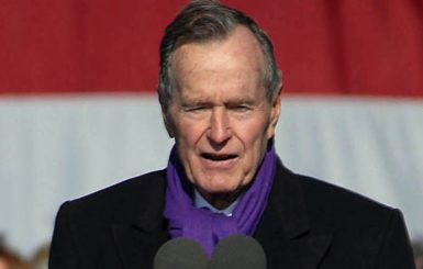 Former President George H.W. Bush. Source: U.S. Navy