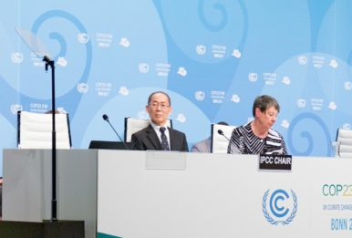 COP23 opening ceremony in Bonn, Germany, November 2017. Source:UNFCCC