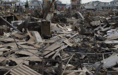 Destruction in Breezy Point, N.Y. following Hurricane Sandy, 2012. Source: FEMA