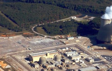 The Vogtle Nuclear Power Plant in Burke County, Georgia, 2011. Source: Charles C. Watson Jr.