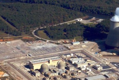 The Vogtle Nuclear Power Plant in Burke County, Georgia, 2011. Source: Charles C. WatsonJr.