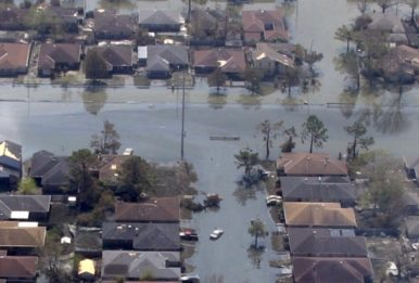 New Orleans after Hurricane Katrina. Source: Pixabay
