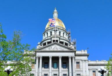 The Colorado state capitol. Source: Keith Knapp