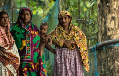 Women in Gabura, southern Bangladesh. Source: Environmental Justice Foundation