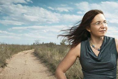 Climate scientist Katharine Hayhoe has suffered sexist attacks from climate change deniers. Source: Katharine Hayhoe