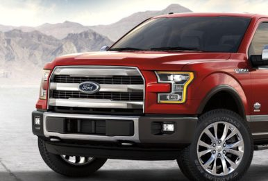 The 2017 Ford F-150 (above) averages just 17 miles per gallon. Source: Ford MotorCompany