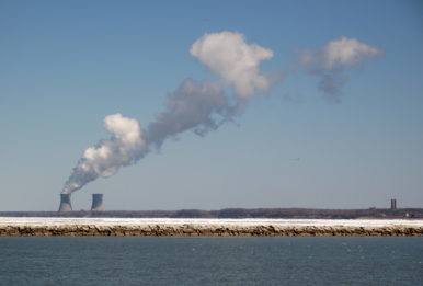 The Perry Nuclear Power Plant is part of the coal bailout