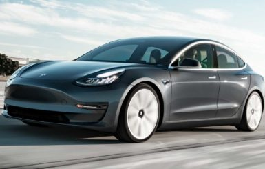The Tesla Model 3. Source: Tesla