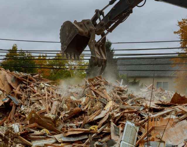 house destroyed bricks, sticks trees, debris beam natural disaster structure, tornado