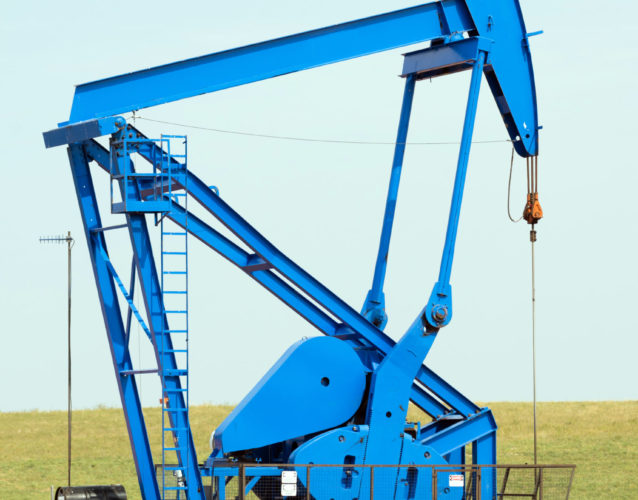 A device used for oil exploration and fracking